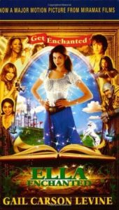 Ella Enchanted, Book Cover