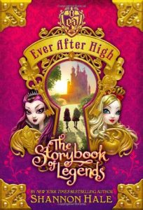Ever After High - The Storybook of Legends, Book Cover