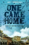Once Came Home, Book Cover