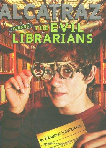 Alcatraz Versus the Evil Librarians, Book Cover