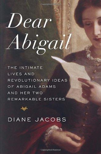 Dear Abigail, Book Cover