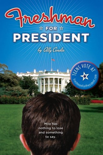 Freshman for President, Book Cover
