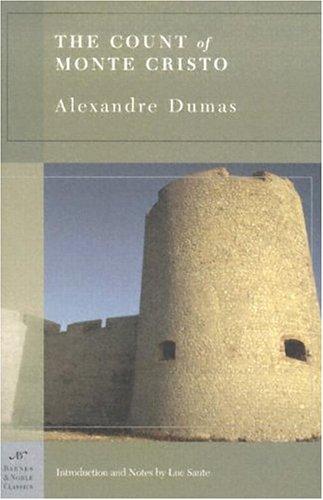The Count of Monte Cristo, Book Cover