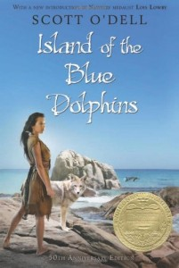 Island of the Blue Dolphis, Book Cover