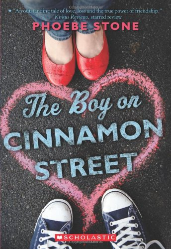 The Boy on Cinnamon Street, Book Cover