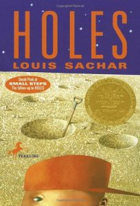 Holes, Book Cover