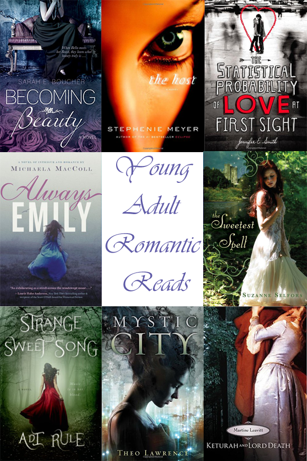 Yong Adult Romantic Reads 2015 Graphic