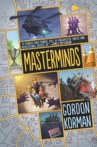 Masterminds, Book Cover